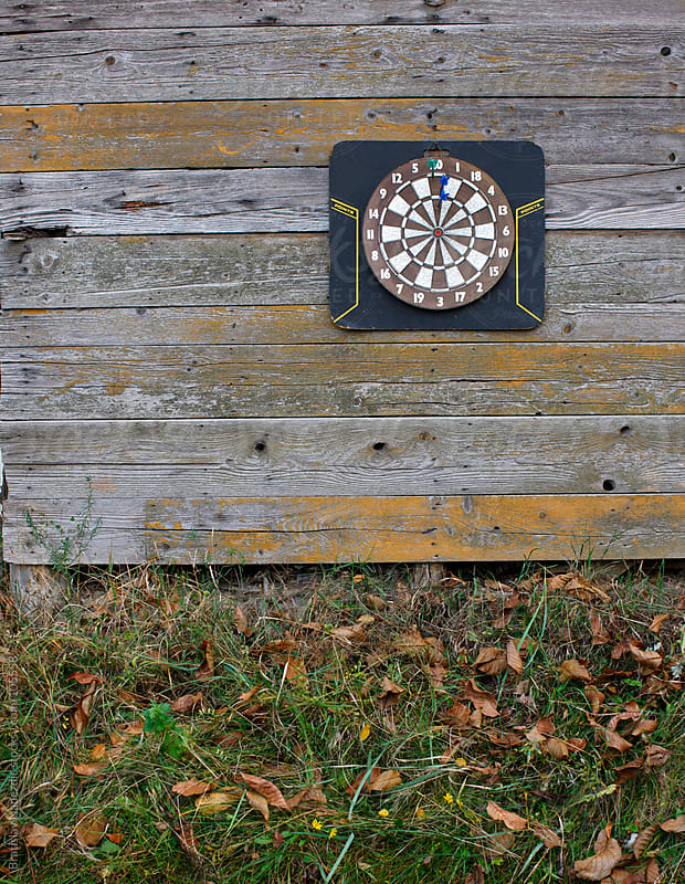 Dartboard by Bratislav Nadezdic for Stocksy United
