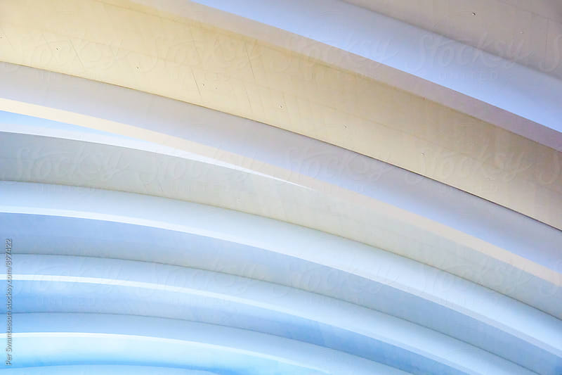 Abstract background of architectural detail by Per Swantesson for Stocksy United
