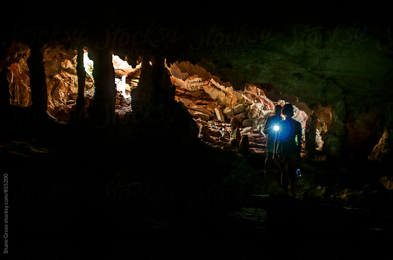 Cave Explorers by Shane Gross for Stocksy United