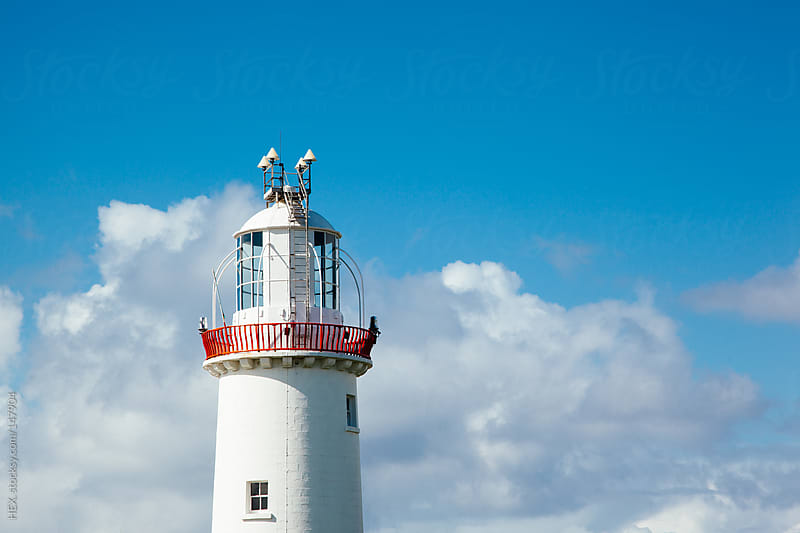 Loop Head Lighthouse Ireland by HEX. for Stocksy United