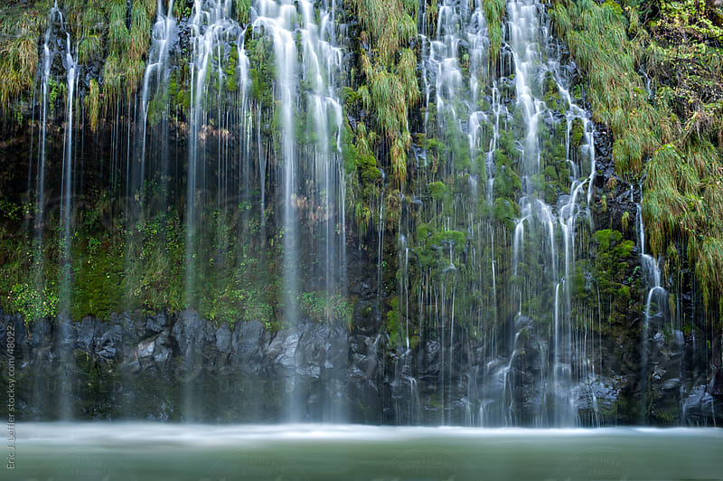 Mossbrae Falls by Eric James Leffler for Stocksy United