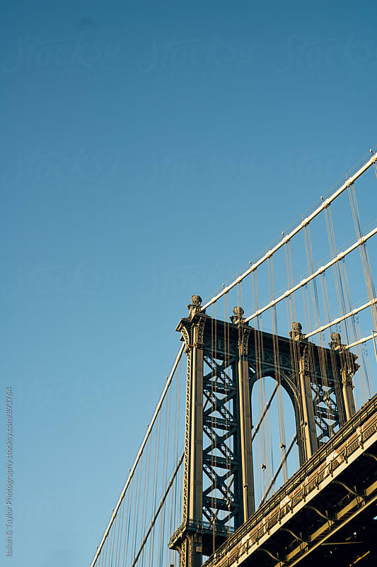 Detail of bridge by Isaiah & Taylor Photography for Stocksy United