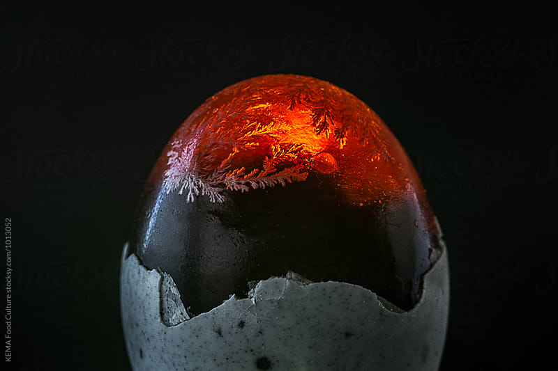 Black chinese egg by KEMA Food Culture for Stocksy United