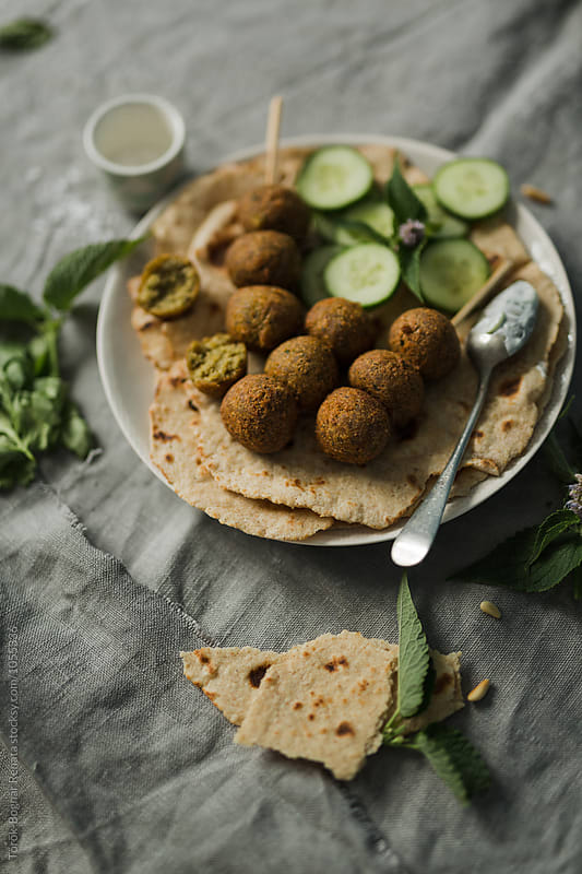 Falafel by Török-Bognár Renáta for Stocksy United