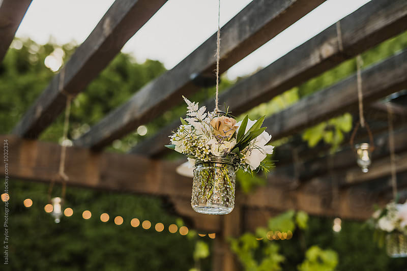 Outdoor Garden Decor by Isaiah & Taylor Photography for Stocksy United