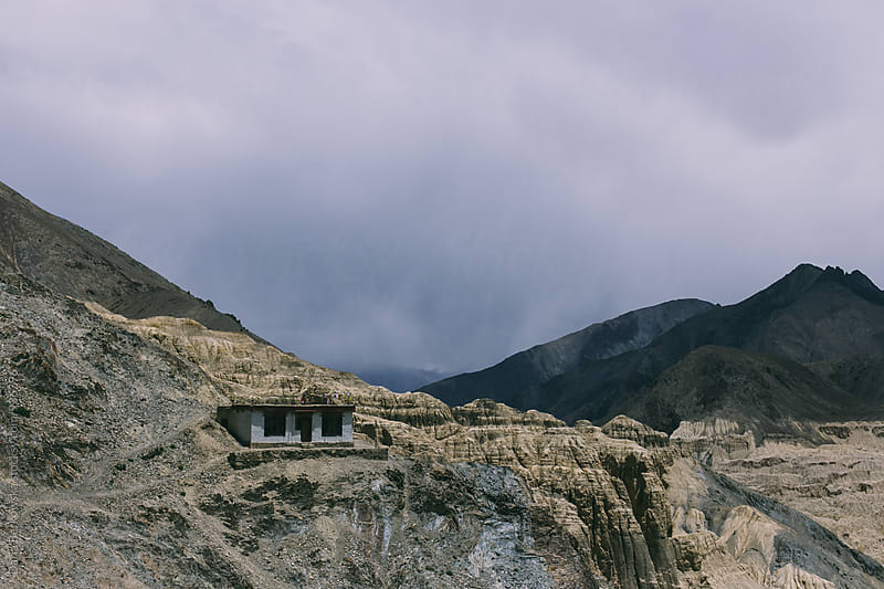 Monastery in Ladakh, India by Daria Berkowska for Stocksy United