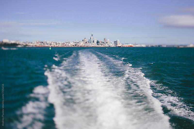 Leaving Auckland by Andrey Pavlov for Stocksy United