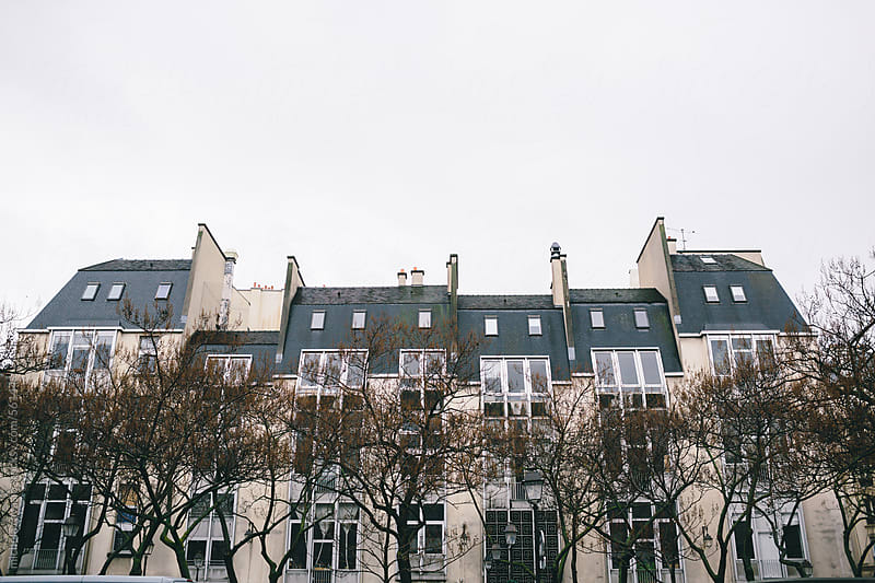 Buildings in Paris by michela ravasio for Stocksy United