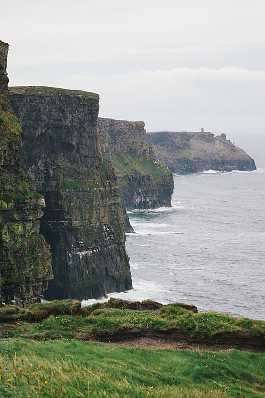 Cliff of Moher by HEX. for Stocksy United