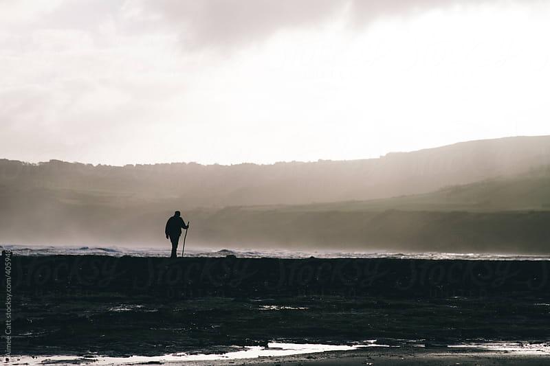 Lone traveller by Aimee Catt for Stocksy United