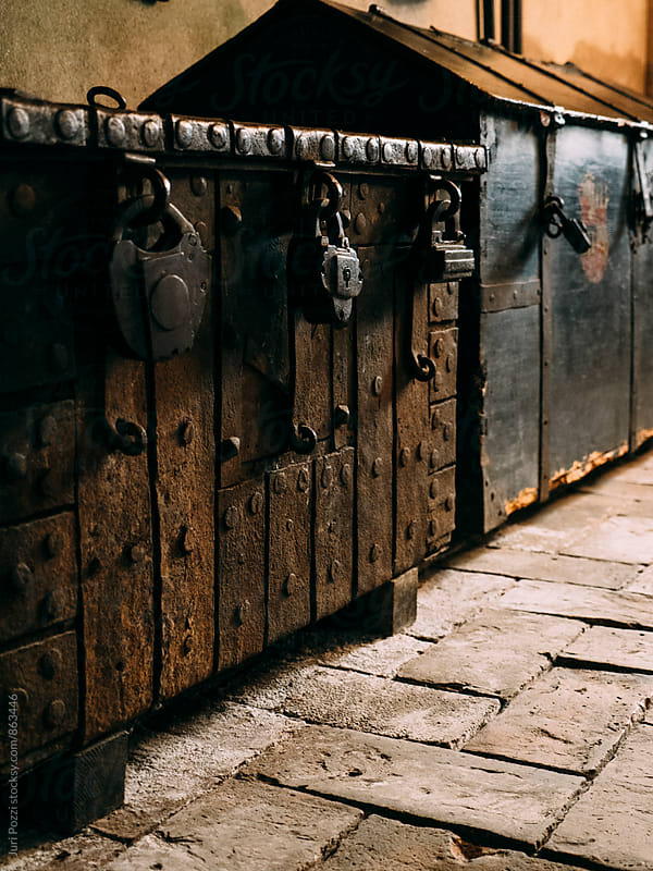 antique chest with lockers by Juri Pozzi for Stocksy United