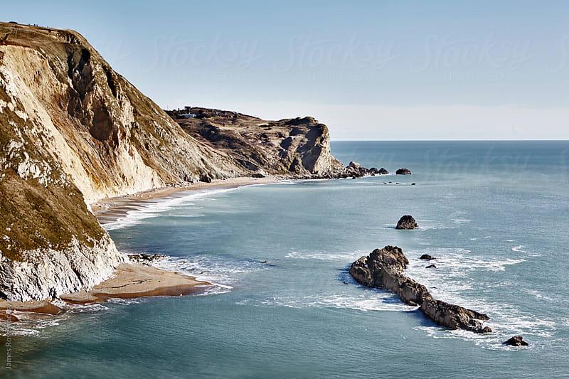 Man O War Cove, Dorset, UK by James Ross for Stocksy United