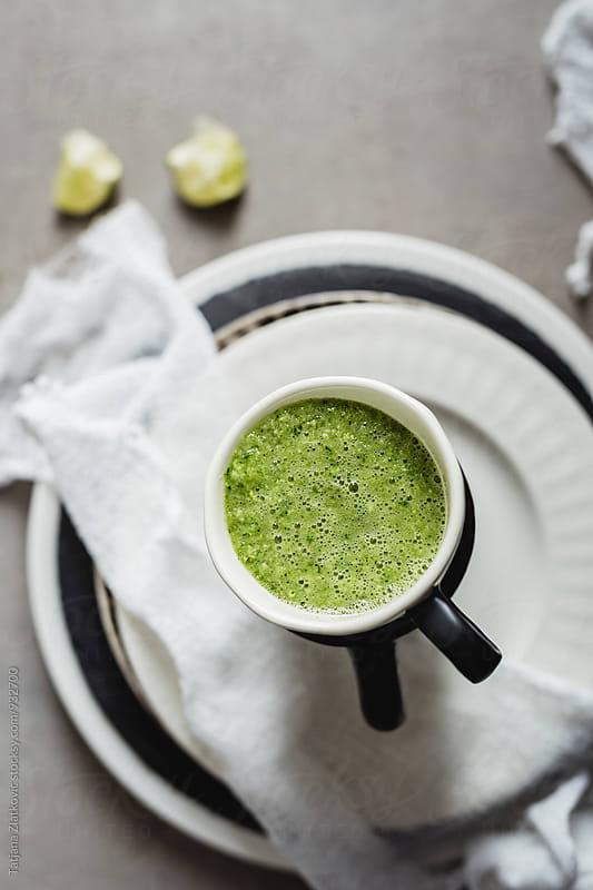 Green smoothie by Tatjana Zlatkovic for Stocksy United