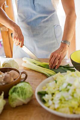 Manresa Top Chef Plating Salad by Sara Remington - Stocksy