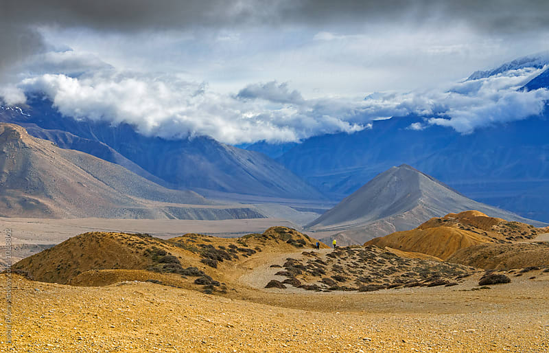 Amazing views of Mustang kingdom mountains by Sasha Evory for Stocksy United