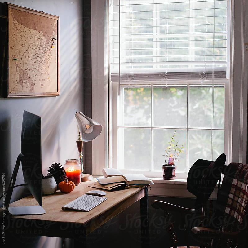 Morning office  by Joe St.Pierre Photography for Stocksy United