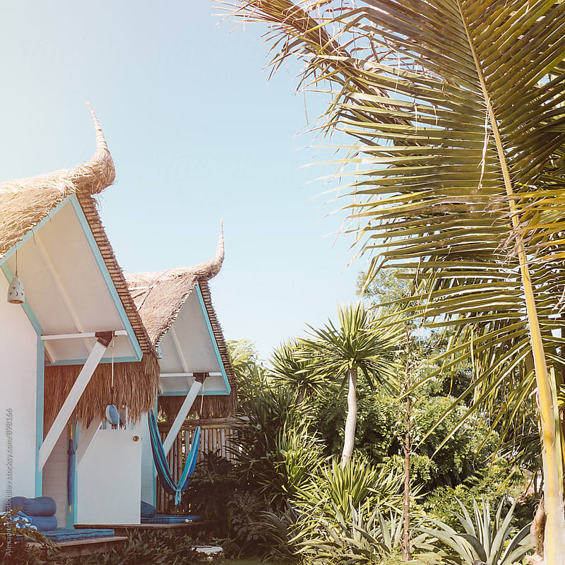 Beach huts by Alexander Grabchilev for Stocksy United