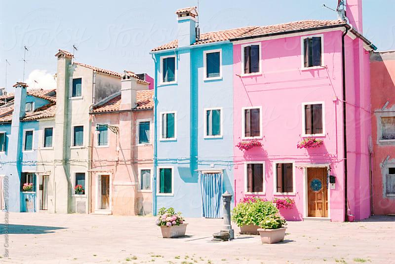 Little square in Burano by Bor Cvetko for Stocksy United