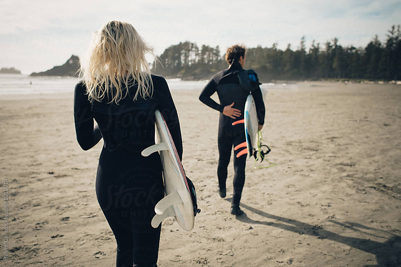 Young Surfers by Helene Cyr for Stocksy United