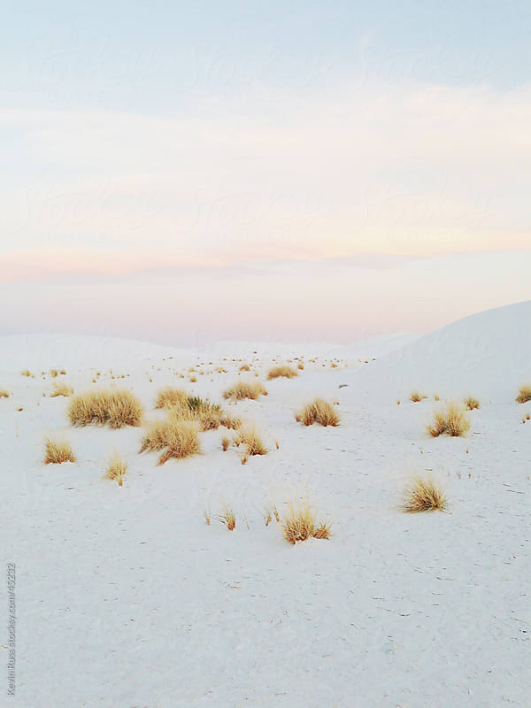 White Sands Landscape by Kevin Russ for Stocksy United