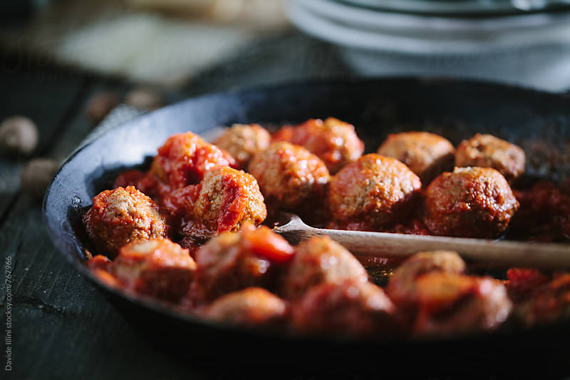 Meatballs by Davide Illini for Stocksy United