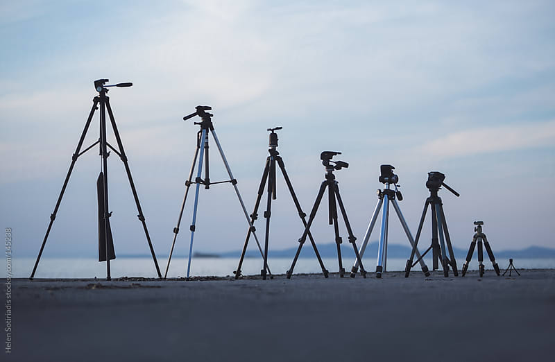 Tripods by Helen Sotiriadis for Stocksy United
