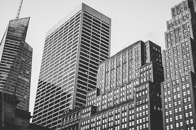 New York,architecture,city, by Igor Madjinca for Stocksy United