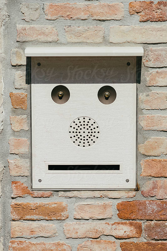 Mailbox Smiley by Agencia for Stocksy United