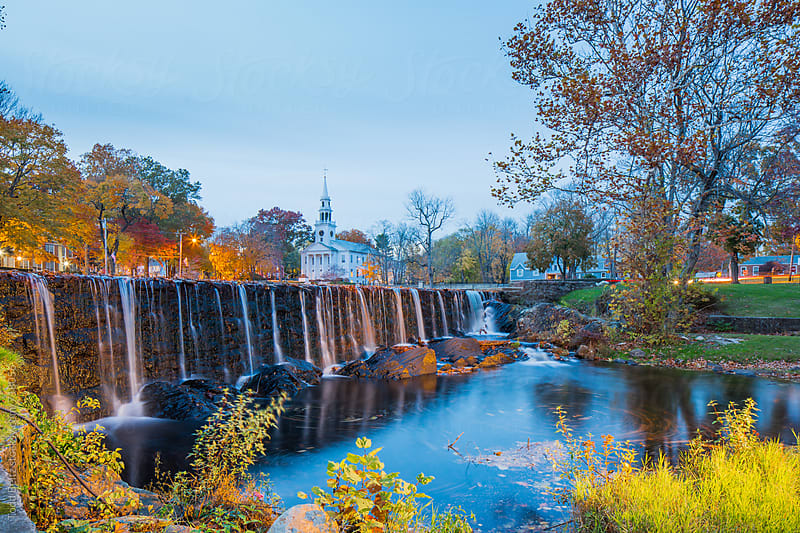 Fall time scene in New England by Todd Beltz for Stocksy United