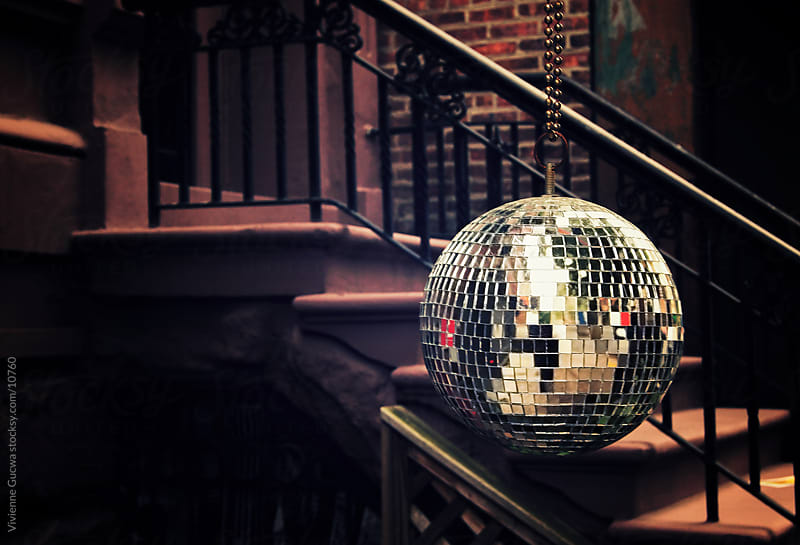 Disco Ball in the City by Vivienne Gucwa for Stocksy United