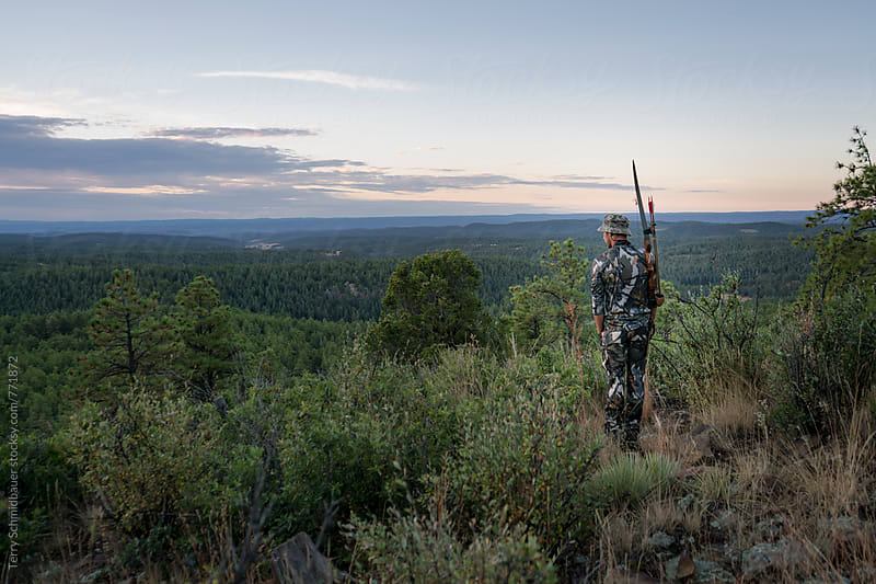 Young Bow Hunter by Terry Schmidbauer for Stocksy United
