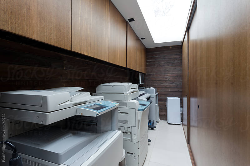 Photocopy room by Paul Phillips for Stocksy United