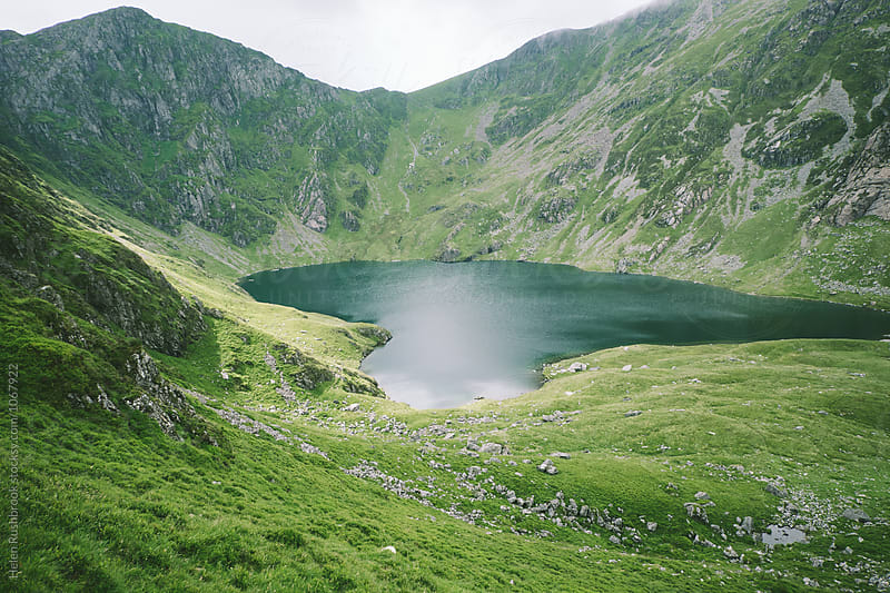 Llyn Cau in Snowdonia, Wales. by Helen Rushbrook for Stocksy United