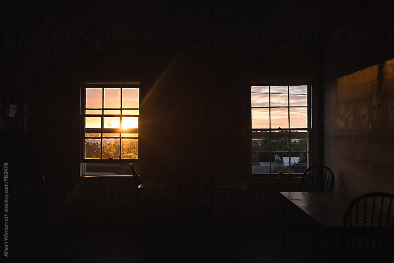Morning Light Streaming Through A Window by Alison Winterroth for Stocksy United