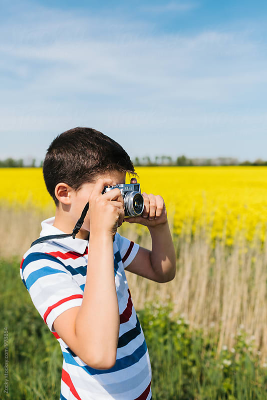 Young nature photographer by Zocky for Stocksy United