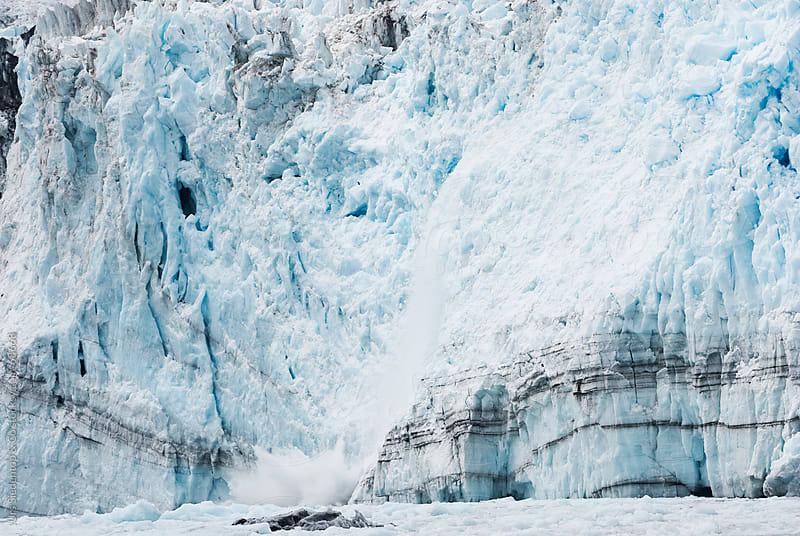 Calving glacier in Alaska by Urs Siedentop & Co for Stocksy United