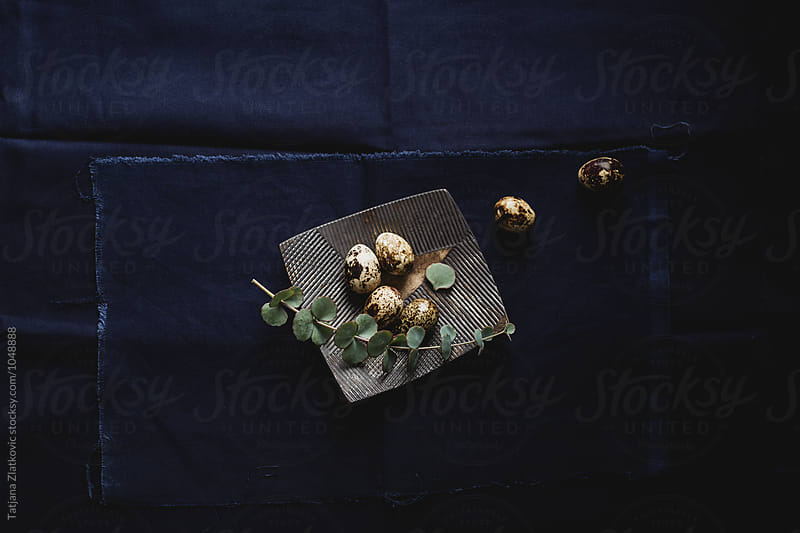 Quail eggs by Tatjana Ristanic for Stocksy United