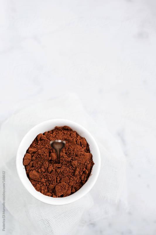 Cocoa powder by Federica Di Marcello for Stocksy United