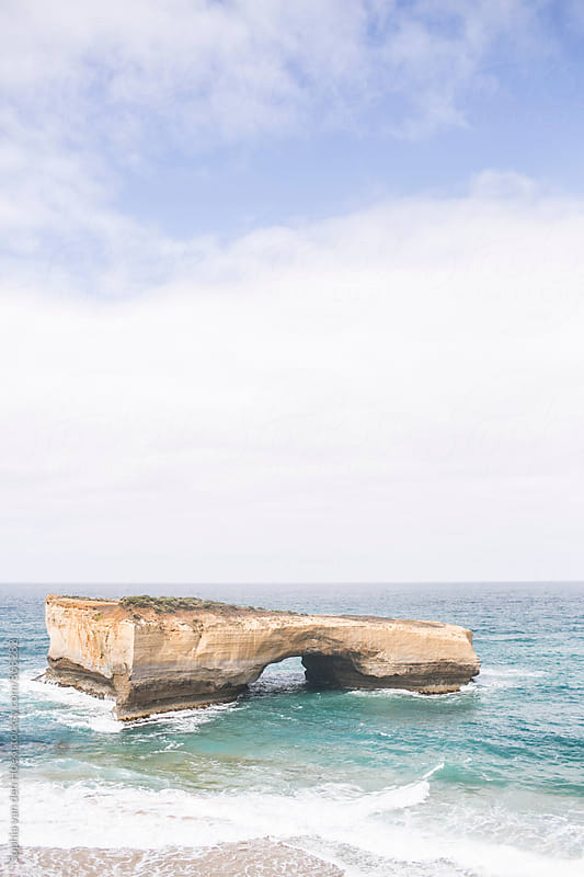 The twelve apostles Australia by Sophia van den Hoek for Stocksy United