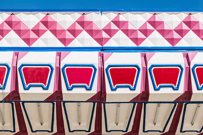 Detail of a Carousel at an Amusement Park by Victor Torres for Stocksy United
