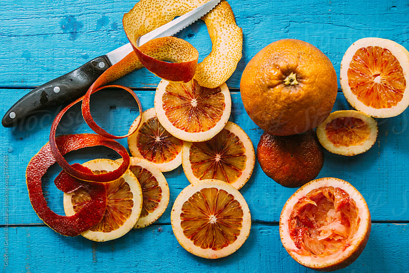 Blood Orange Slices by Gabriel (Gabi) Bucataru for Stocksy United