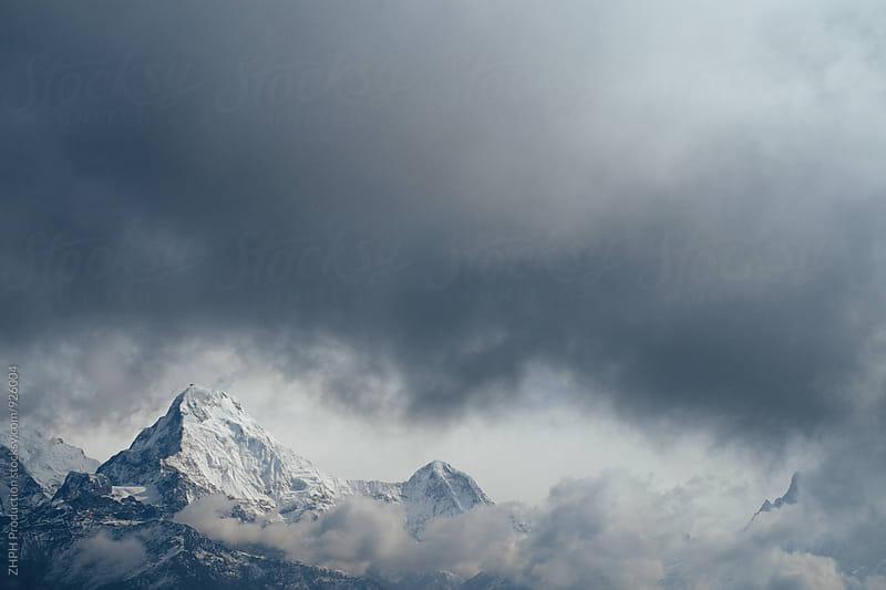 Annapurna South by Artem Zhushman for Stocksy United