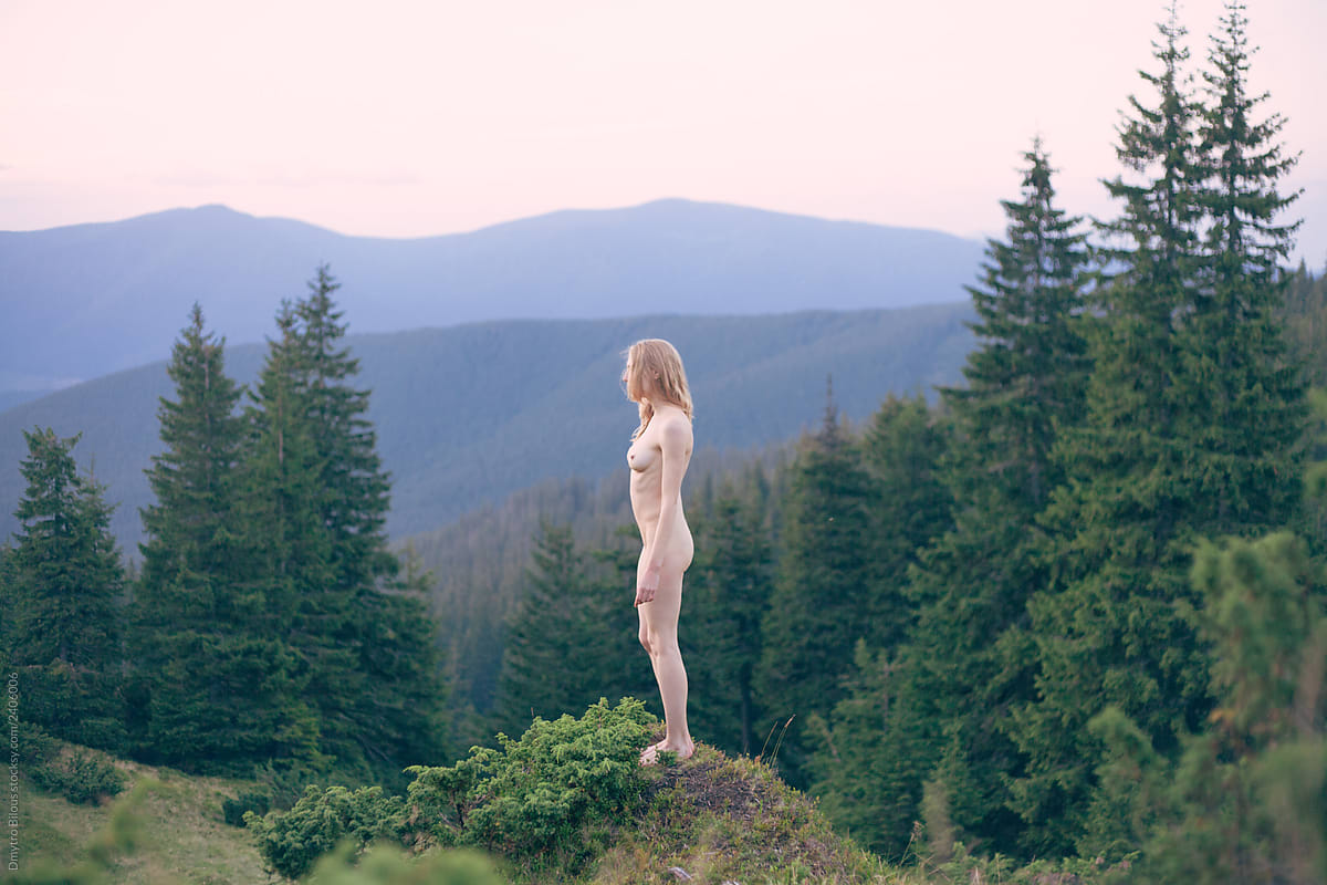 Forest nude girl Forest Porn