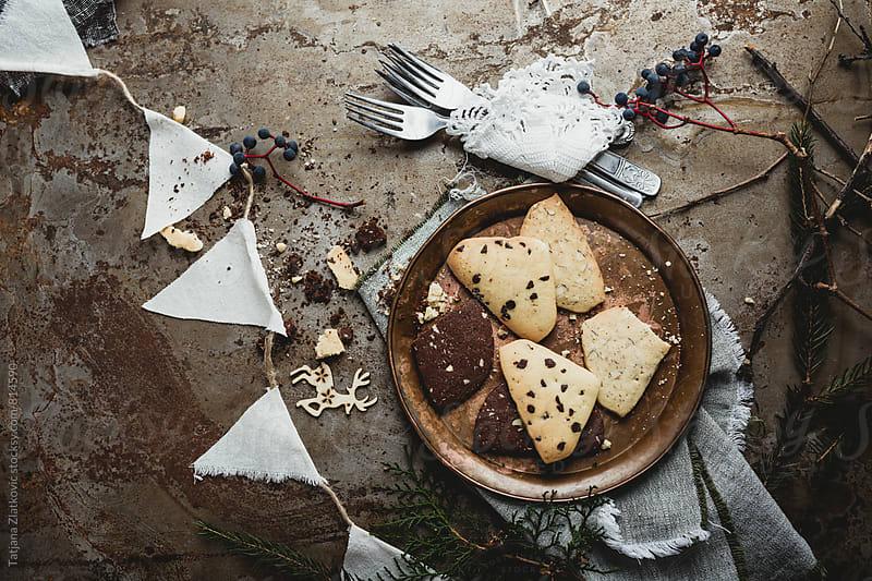 Christmas cookies by Tatjana Zlatkovic for Stocksy United