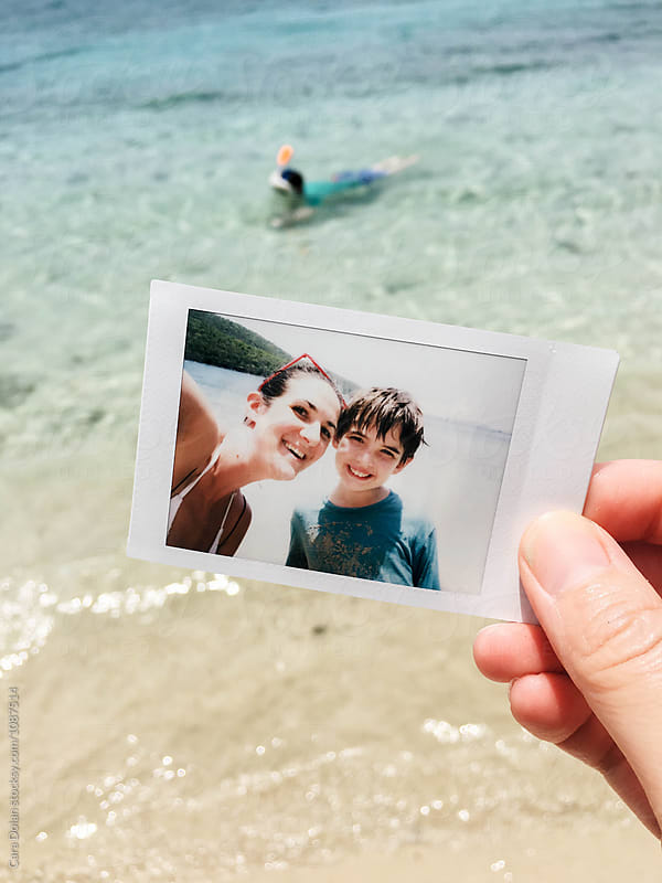 Family vacation in St. John U.S. Virgin Islands by Cara Dolan for Stocksy United