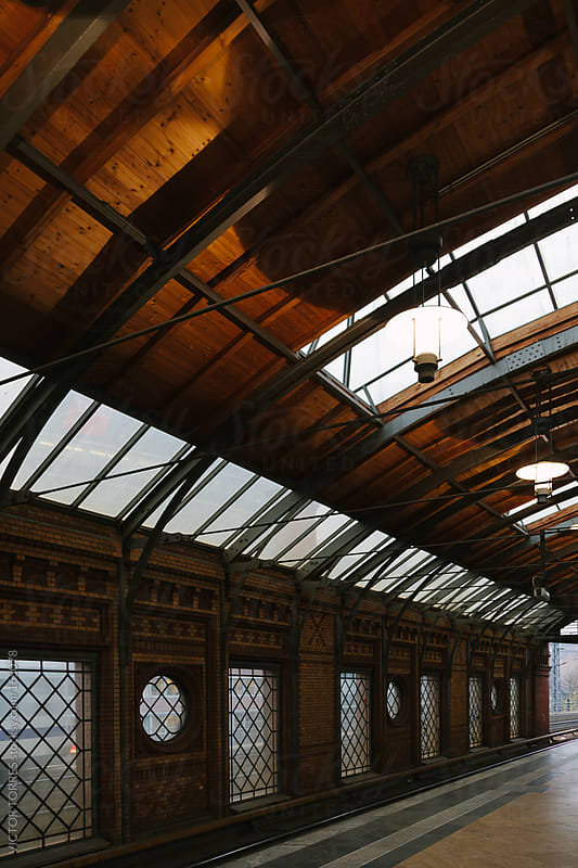 Old Train Station by VICTOR TORRES for Stocksy United