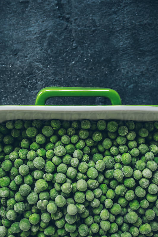Frozen Peas by Lumina for Stocksy United