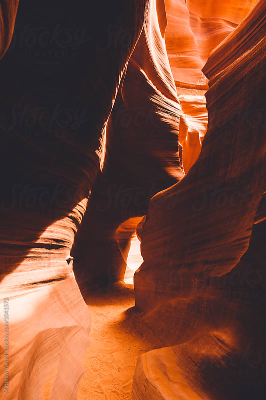 Antelope Canyon by Matthew Yarnell for Stocksy United