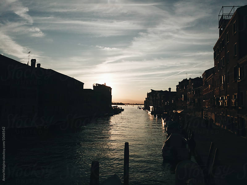 Sunset in Venice by Anna Malgina for Stocksy United