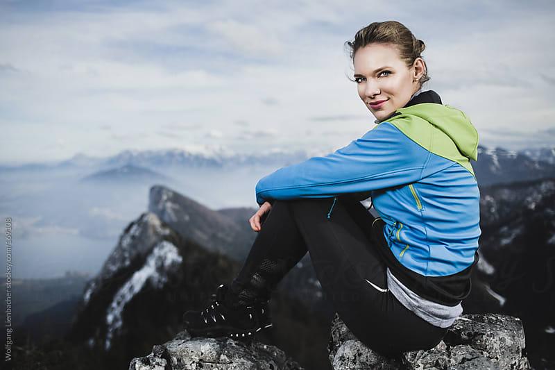 alpine portrait by Wolfgang Lienbacher for Stocksy United
